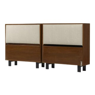 1946 Twin-Sized Headboards by George Nelson for Herman Miller For Sale