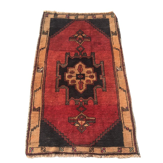 Vintage Anatolian Turkish Rug - 2′ × 3′6″ - Image 1 of 6