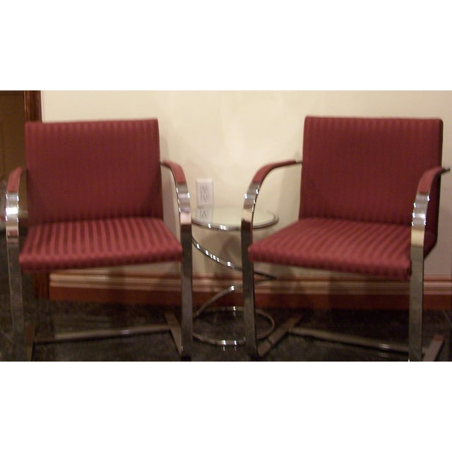 Pair of 1960s Mies Van Der Rohe Brno Chairs for Bruerton - a Pair - Image 4 of 11