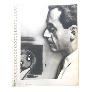 Very Rare Book- Man Ray Photographs 1920 Paris 1934-True First Edition, First Printing-104 Lush Gravures For Sale