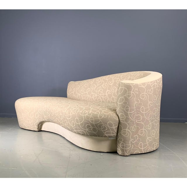Mid-Century Modern Vintage Weiman Sculptural Cloud Sofas- a Pair For Sale - Image 3 of 10
