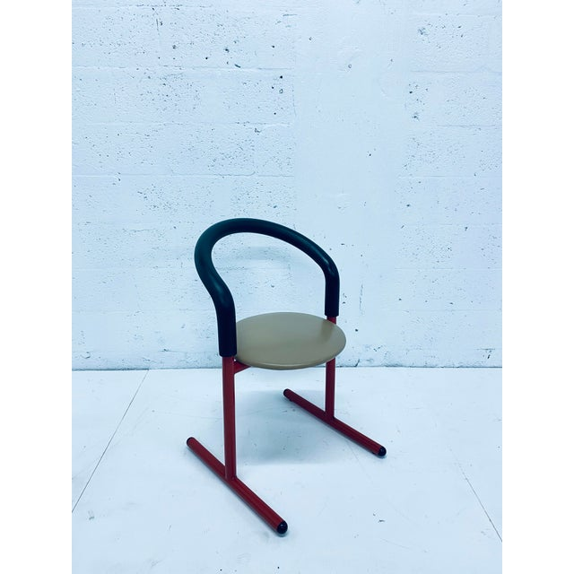 Postmodern Amisco Chair or Stool With Foam Back For Sale - Image 9 of 11
