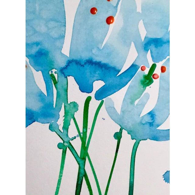 Original watercolor painting on Caslon paper, Botanical Art.