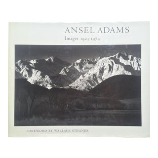 """ Ansel Adams Images "" Rare 1st Edition 1974 Oversized Monumental Slipcase Collector's Book For Sale"