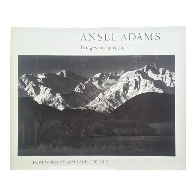 """"""" Ansel Adams Images """" Rare 1st Edition 1974 Oversized Monumental Slipcase Collector's Book For Sale"""