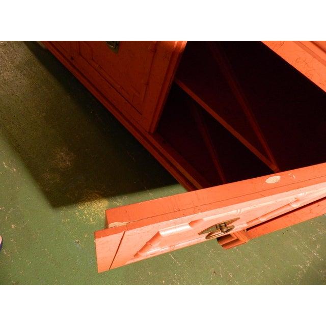 Vintage Ficks Reed Coral Sideboard - Image 7 of 11