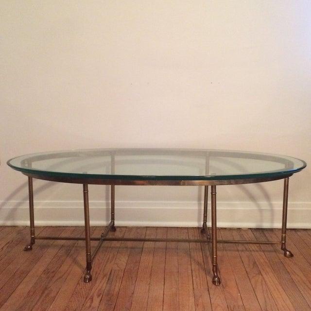 La Barge Gilt Glass Coffee Table - Image 2 of 6