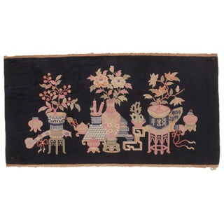 RugsinDallas Collector's Antique Chinese Peking Rug For Sale