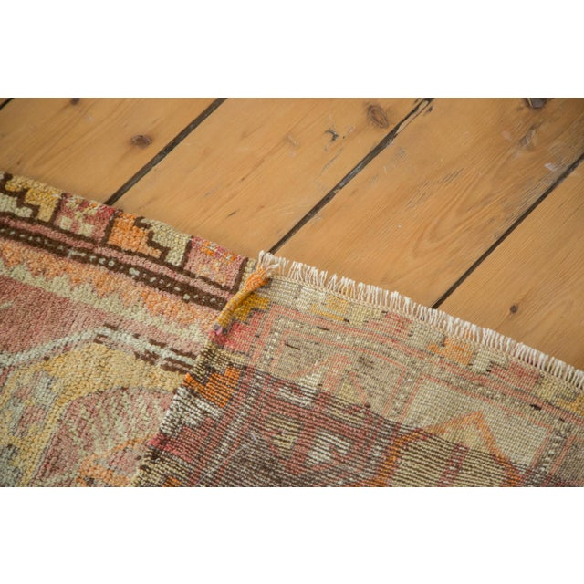 "Vintage Oushak Distressed Rug - 1'6"" x 2'10"" - Image 6 of 6"