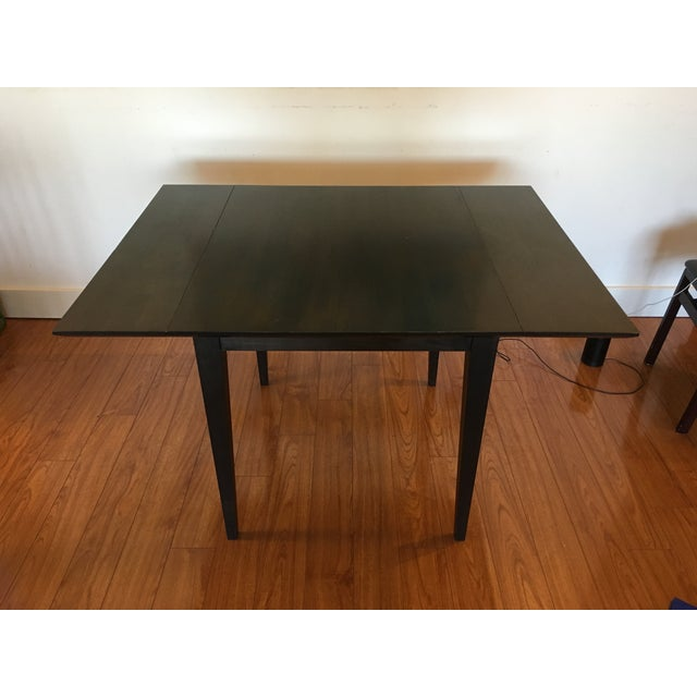 Room & Board Drop-Leaf Dining Table For Sale - Image 9 of 9