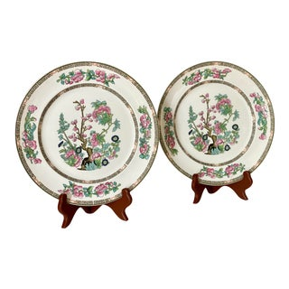 Indian Tree Plates - a Pair For Sale