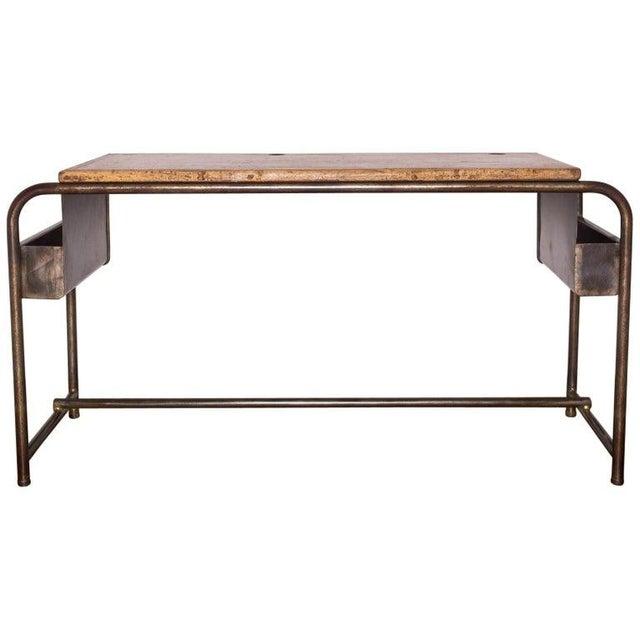 1930s 1930's Belgian School Desk For Sale - Image 5 of 5