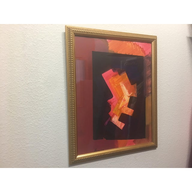 Erle Loran Abstract Gouache - Image 5 of 6