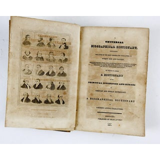 1829 Universal Biographical Dictionary Book Preview