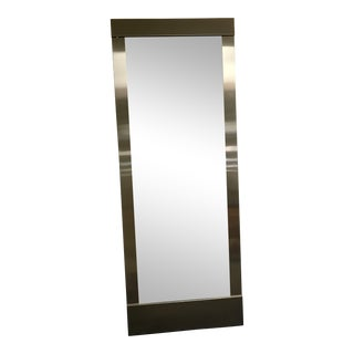 Stainless Steel Tall Full Length Wall Mirror