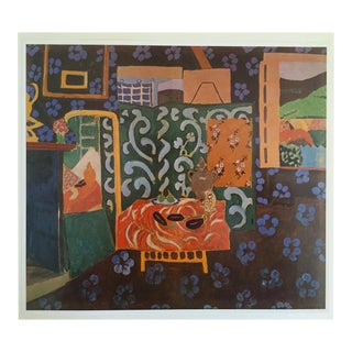 "Matisse Original Vintage 1973 ""Still Life With Aubergines"" Lithograph Print For Sale"