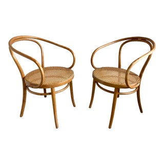 Thonet Model 209 Bentwood Chairs - a Pair For Sale