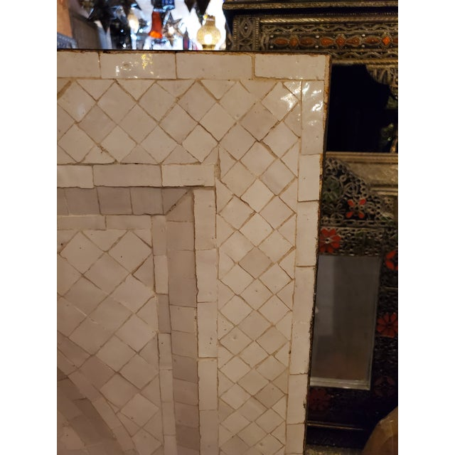 Moroccan Zen Style White Fountain For Sale - Image 4 of 7
