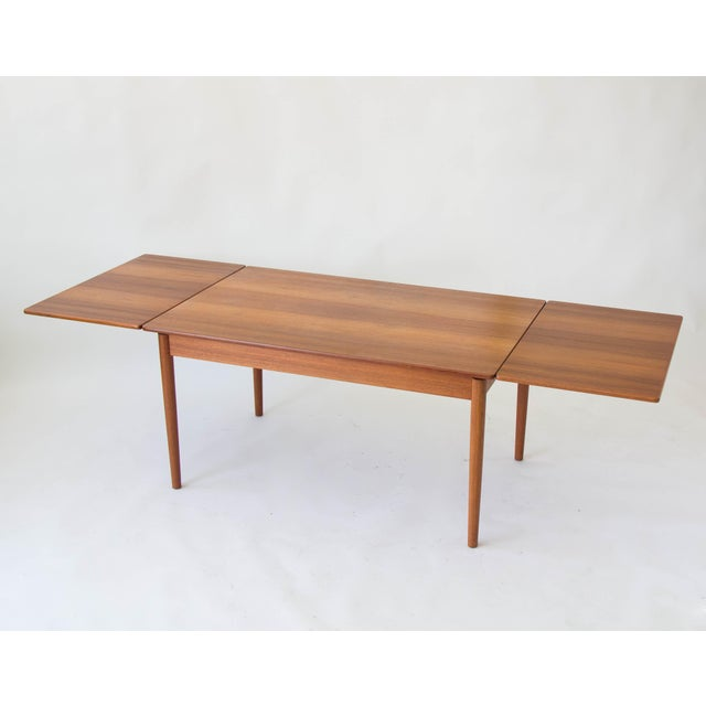 At-316 Draw Leaf Dining Table by Hans Wegner - Image 9 of 10