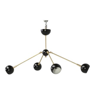 Mid-Century Modern Adjustable Chandelier For Sale