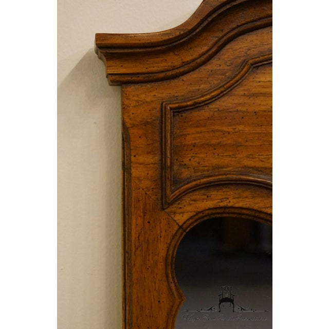 Wood Late 20th Century Vintage Thomasville Furniture Camille Collection Mirror For Sale - Image 7 of 11