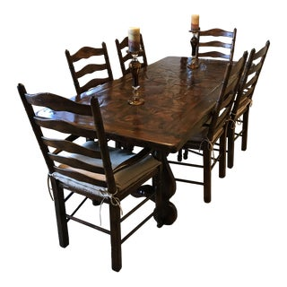 Theodore Alexander Castle Bromwich Country Kitchen Dining Set