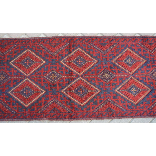 Size: 2' x 8'2 Feet. This is a nice Turkish vintage kilim/rug Runner in a good condition and ready to use. This runner...
