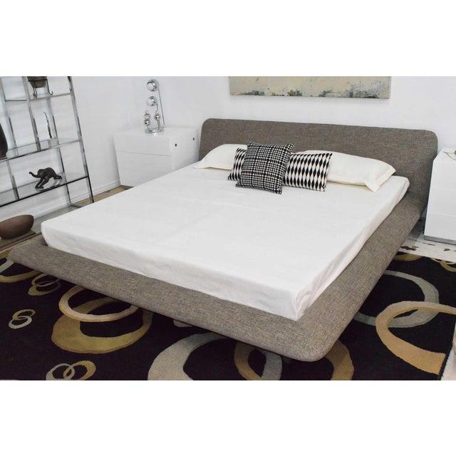 Ligne Roset Ligne Roset Uzume King Size Bed For Sale - Image 4 of 8