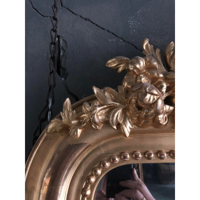 Traditional Early 19th Century Mirror South of France For Sale - Image 3 of 8