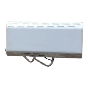 White Perforated Metal Sconce For Sale