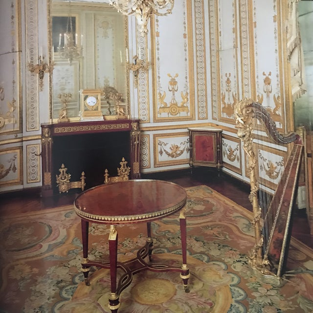 Red 'Splendours of Versailles' Hardcover Book For Sale - Image 8 of 11