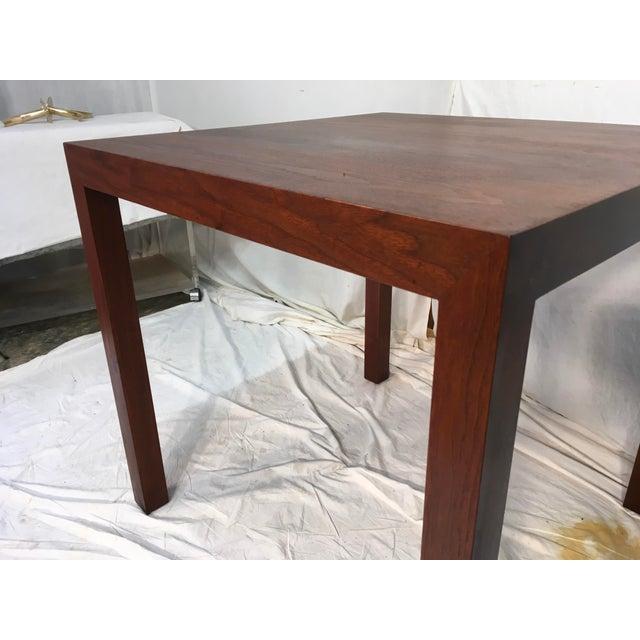Edward Wormley Walnut Side Table - Image 6 of 11