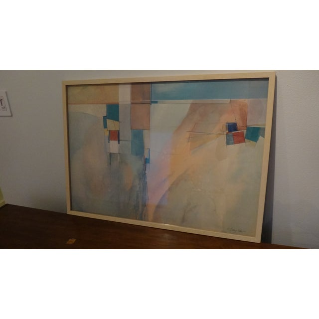 Framed Watercolor Print by Anthony Askew - Image 4 of 8