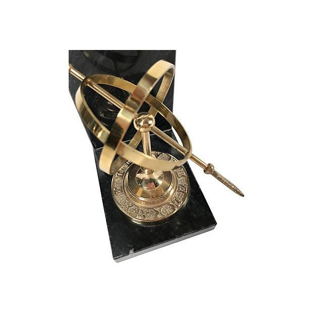 Armillary Sphere Bookends For Sale - Image 5 of 6