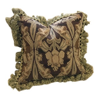 Vintage Gerry Nichol Aubusson Pillow