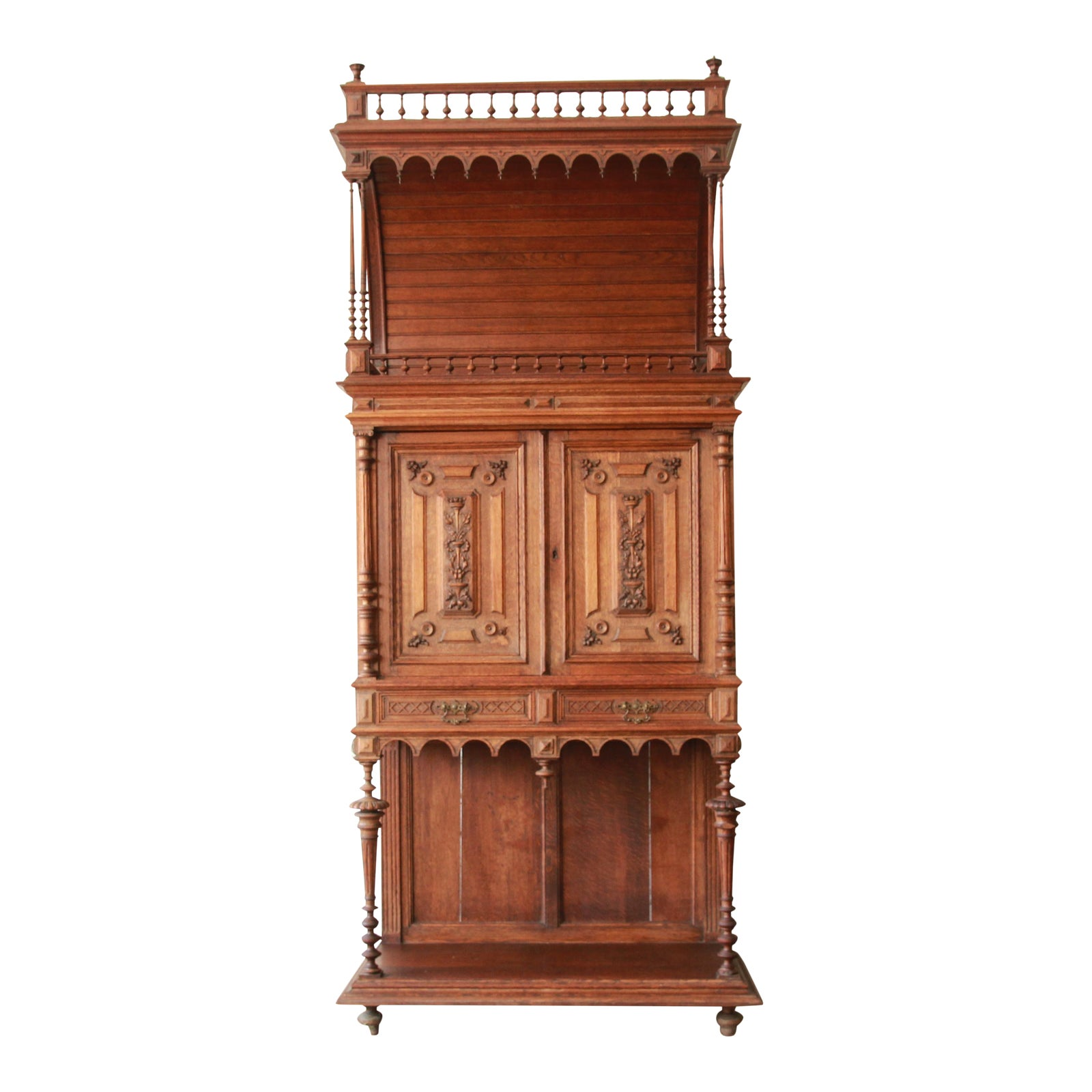 Cabinet D Architecte Nice antique carved oak tall french bar cabinet