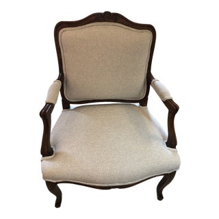 1990s Vintage Bergere Chair For Sale