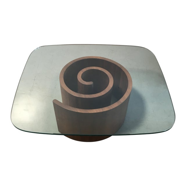 Kagan Snail Coffee Table - Image 1 of 7