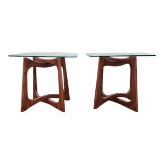 Adrian Pearsall Sculptural Side Tables - a Pair For Sale