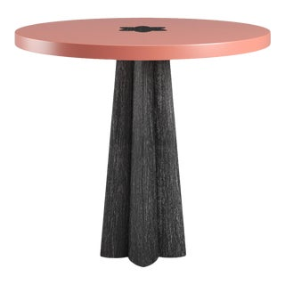 Danielle Side Table - Black Cerused Oak - Coral Gables For Sale