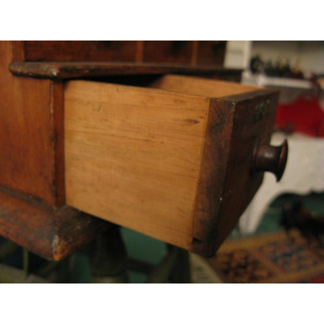 Early Original Graduated Apothecary Drawers - Image 7 of 11