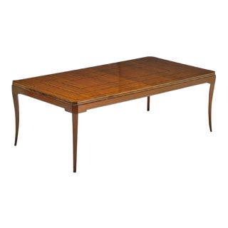 1960's Extension Dinning Table by Tommi Parzinger for Parzinger Originals For Sale