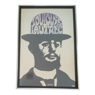 1967 Peter Max Toulouse Lautrec Poster