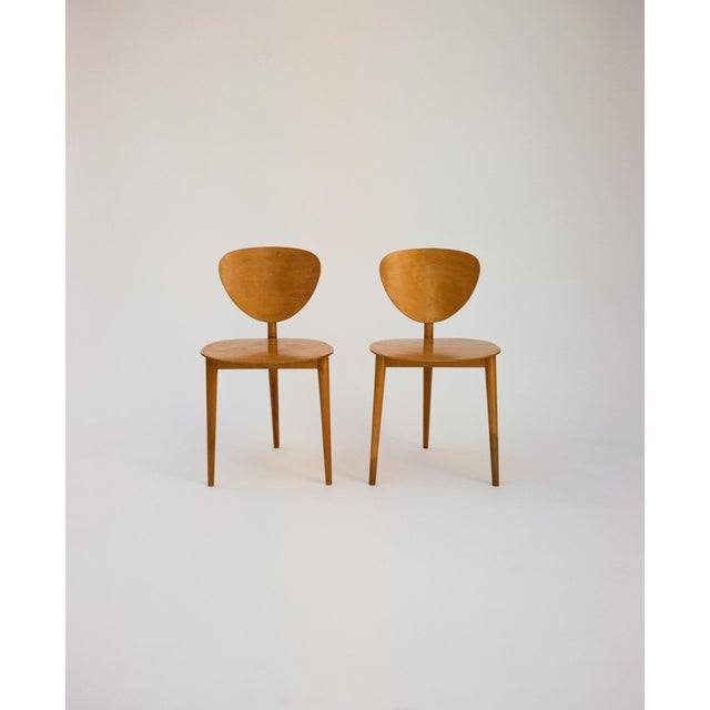 Max Bill Tripod Chairs, 1949 For Sale In Los Angeles - Image 6 of 6