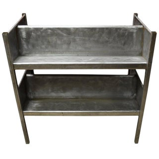 Industrial Cart of Steel With Storage Shelves