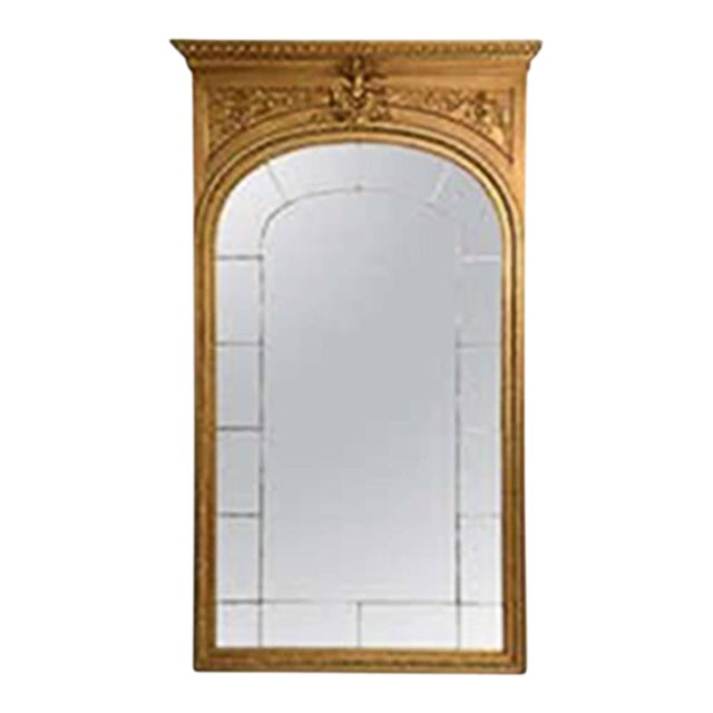 19th Century Giltwood Palace Mirror For Sale