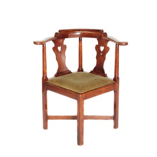 Georgian-Style Smoking Chair or Roundabout For Sale