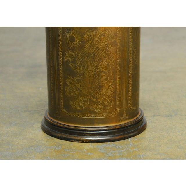 Brass Shrewsbury Tea Caddy Lamp - Image 3 of 6