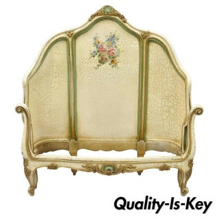 French Louis XV Style Twin Single Bedframe Preview