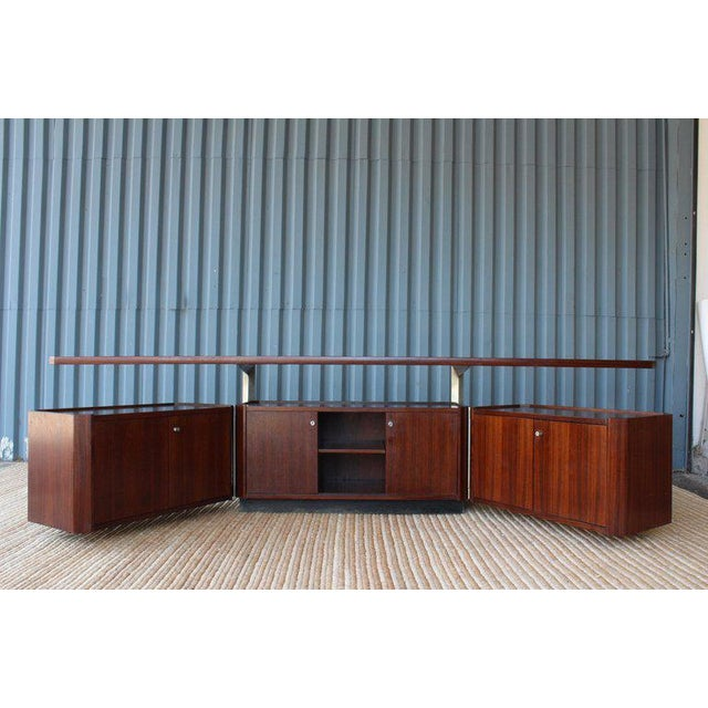 Rosewood Cabinet by Osvaldo Borsani for Tecno, Italy, 1960s For Sale - Image 10 of 13
